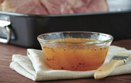 Apricot Pineapple Chipotle Glazed Ham