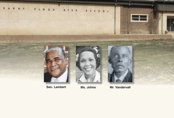 As Henrico schools officials launch the process to rename the former Harry F. Byrd Sr. Middle School, the names of ...