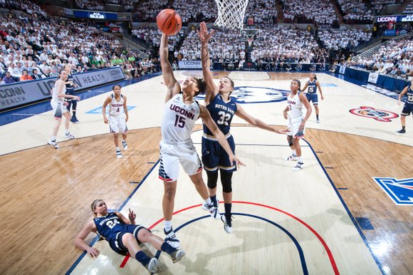 As Division I women's basketball heads into the Final Four this weekend, the University of Connecticut will try to establish ...