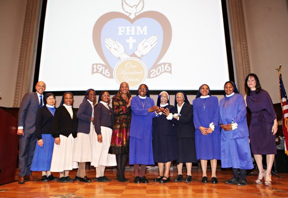 The Franciscan Handmaids of the Most Pure Heart of Mary, one of only three orders of Black nuns in the ...