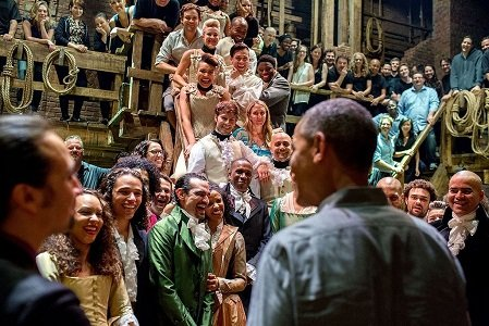 """The hit musical """"Hamilton"""" is Broadway's equivalent of The Beatles."""
