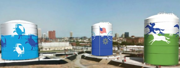 As BGE marks its 200th anniversary this year, the company announced the addition of large-scale murals to the storage tanks ...
