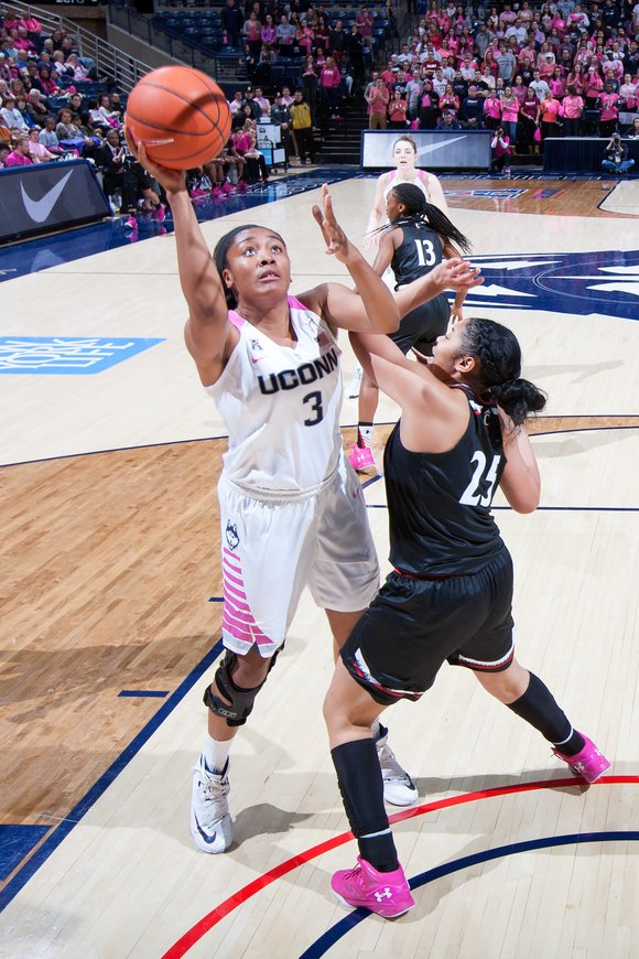 According to some sports pundits, the domination of the University of Connecticut in Division I women's basketball is bad for ...