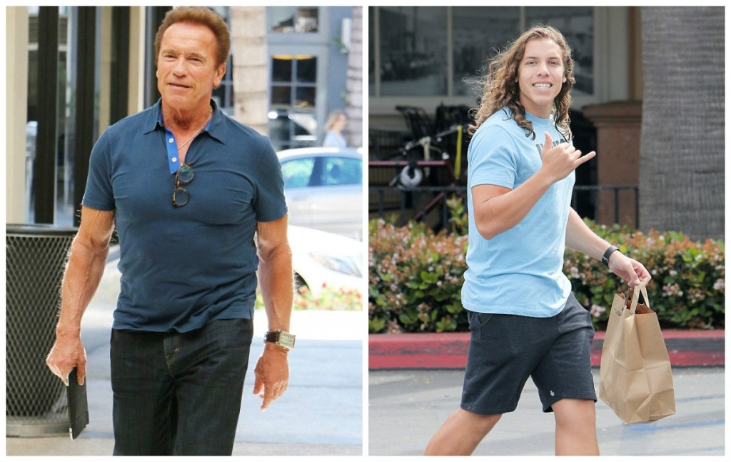 Picture Shows Resemblance Between Arnold Schwarzenegger ...
