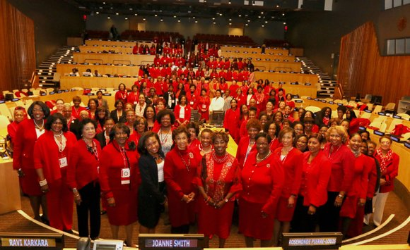 """Delta Sigma Theta Sorority, Inc. convened its Annual """"Delta Day"""" March 18, 2016 in the ECOSOC Chamber at the United ..."""