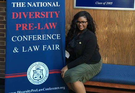 """It was the one college course, """"Criminal Law: Theory and Practice,"""" which most sparked the interest of 23-year old Ashley ..."""