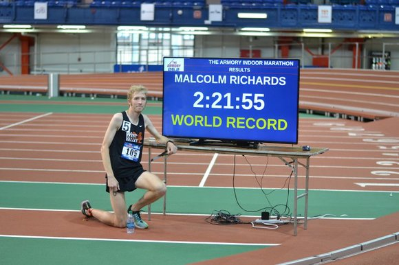 Two new world records were rewritten Saturday afternoon, April 9, 2016, at the New Balance Track & Field Center at ...