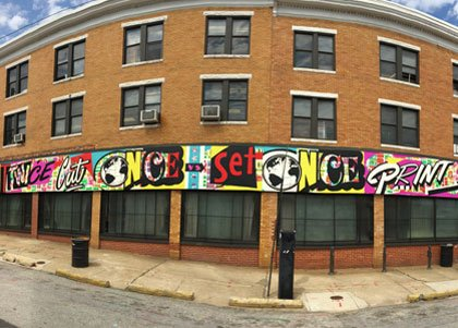 Students from the Maryland Institute College of Art's (MICA) Globe Poster Remix course collaborated with acclaimed street artist POSE to ...