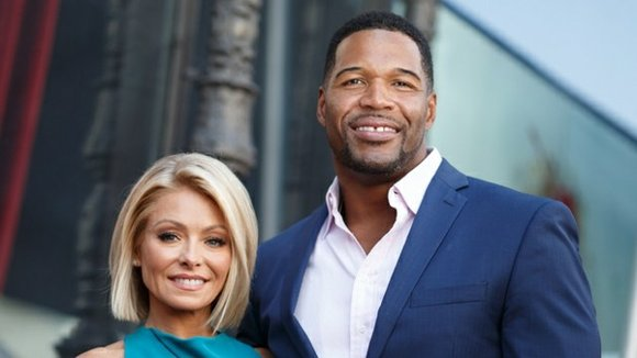 """Michael Strahan will co-host """"Live with Kelly and Michael"""" for two more weeks, but Kelly Ripa and her viewers are ..."""