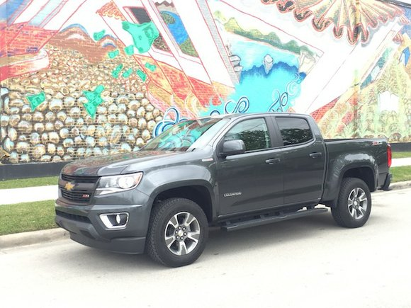 The 2016 Chevrolet Colorado 4WD Z71 has definitely upped the ante when it comes to other midsize trucks in its ...