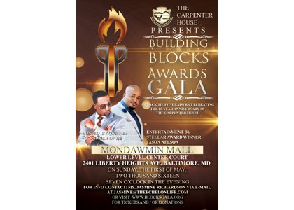 The Carpenter House will be celebrate its 10 year anniversary with the Building Blocks Awards (BBA) Gala black-tie fundraiser on ...