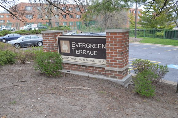 The city's long saga to acquire the Evergreen Terrace housing complex appears to be winding down as it transfers ownership ...