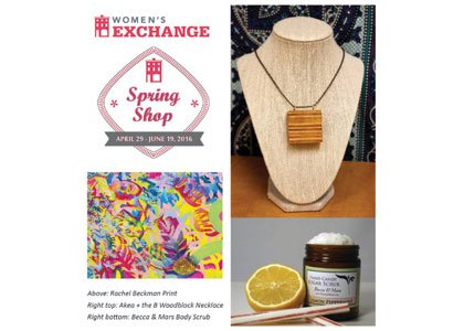 """The Women's Exchange """"Made in Maryland"""" spring shop is back."""