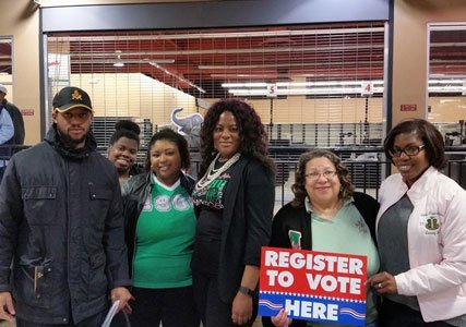 With the elections so critical to our community, many organizations stepped up their efforts to register citizens to vote by ...