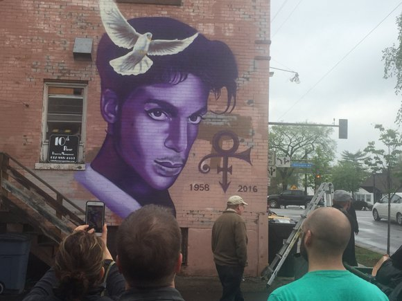 Days after Prince's death, memorials for the music legend are still going strong.