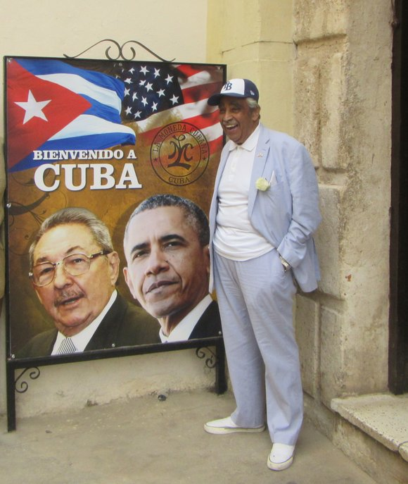 Congressman Charlie B. Rangel reflects on joining President Barack Obama during historic trip to Cuba.