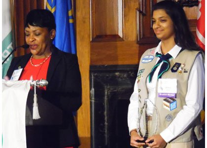 The 36th annual Girl Scouts of Central Maryland Distinguished Women's Award Celebration was held on April 21, 2016 at the ...