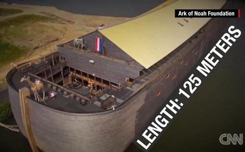 A Dutch carpenter spent years building a replica of Noah's ark. Now he wants to sail across the Atlantic Ocean