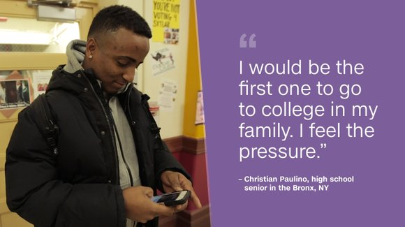 CNNMoney followed Olatunde and several classmates during their senior year of high school as they tried to defy the odds ...