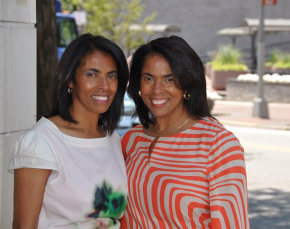 Identical twin sisters Karen and Sharon Mackey are on a mission to show the love to artist of color by ...