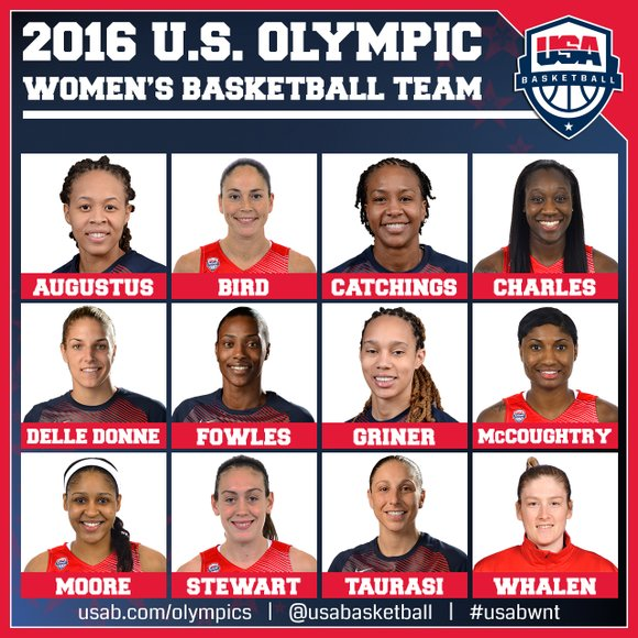 Both New York and the New York Liberty will be represented at this summer's Olympic Games in Rio de Janeiro, ...