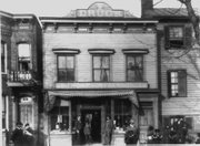 The Thompson and Benson Pharmacy enjoyed a large white clientele and carried an extraordinarily large inventory of stock. One of the owners, Dr. John M. Benson, made history in 1895 when he became the first African-American to pass the Virginia Pharmacy boards, a certification test.