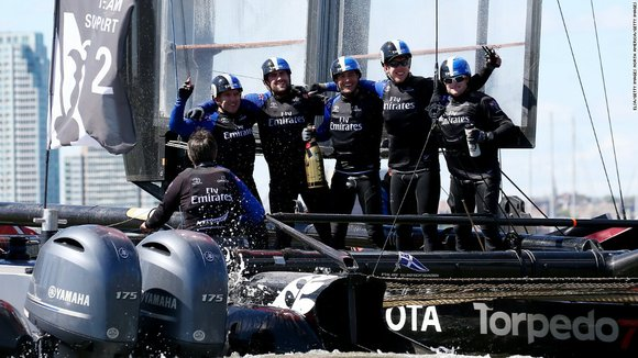 From dead in the water to top of the America's Cup World Series standings, Emirates Team New Zealand overcame a ...