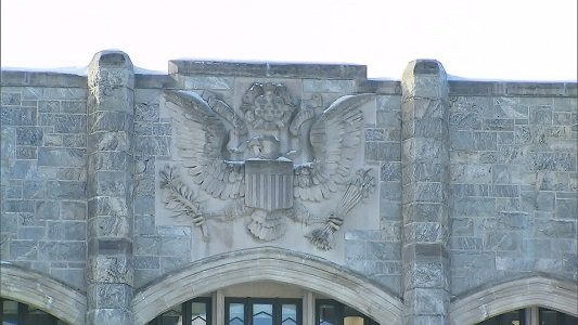 It's a time-honored tradition at the U.S. Military Academy in West Point, New York -- graduating seniors in small groups ...