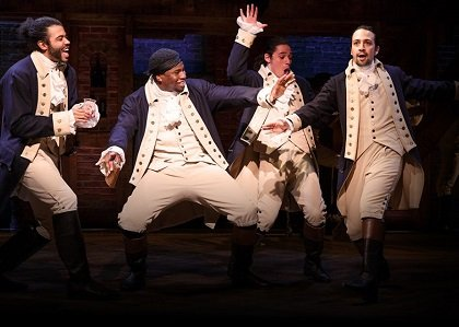 """Hamilton"" may have failed Sunday night at the 70th annual Tony Awards to clinch the most awards ever won, but ..."