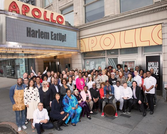 Last year's Harlem EatUp!'s first class photo took place in front of a couple of brownstones on 119th Street in ...