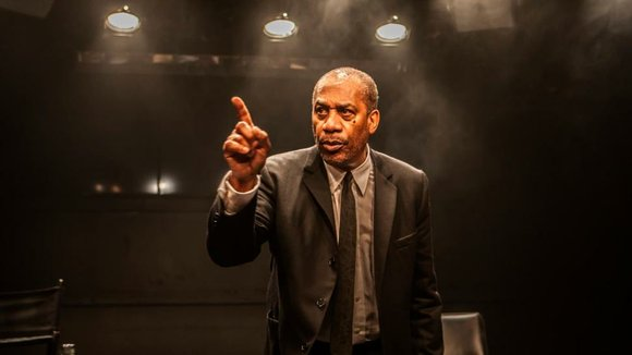 Veteran actor Joe Morton stars as Dick Gregory in the off-Broadway play, Turn Me Loose, now playing at the Westside ...