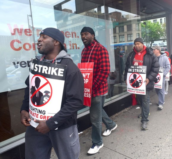 After months of bickering, picket lines and accusations, Verizon and its workers agreed on a tentative four-year deal.