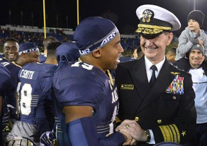 The Baltimore Ravens have always made a point of showing appreciation for the military.