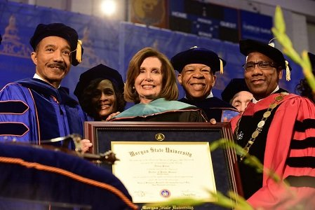 Morgan State University (MSU) recently celebrated its 140th Commencement featuring House Democratic Leader Nancy Pelosi delivering the keynote address before ...