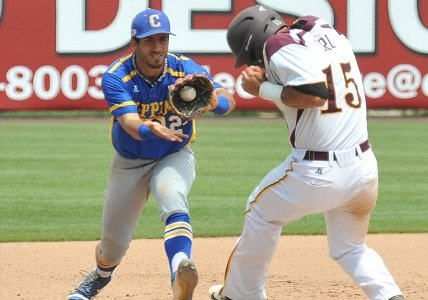 Coppin State fell in extra innings to Norfolk State 7-6 and were eliminated from the 2016 MEAC Baseball Tournament on ...