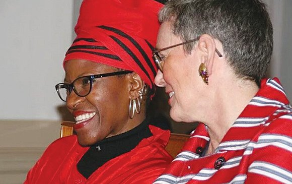 The daughter of Nobel laureate Archbishop Emeritus Desmond Tutu of South Africa has given up her clergy credentials after marrying ...