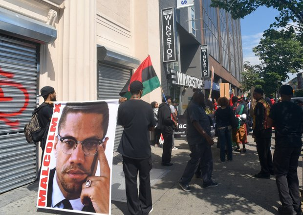 Malcolm X Birthday Black Power March and Rally in Harlem.