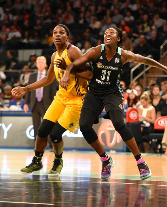 For two games in a row, the New York Liberty held a lead over its opponents for most of the ...
