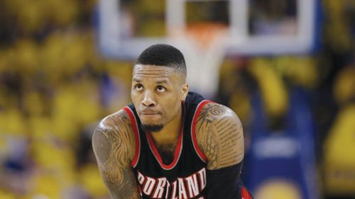 Portland Trail Blazers guard Damian Lillard is officially one of the top 10 players in the league.
