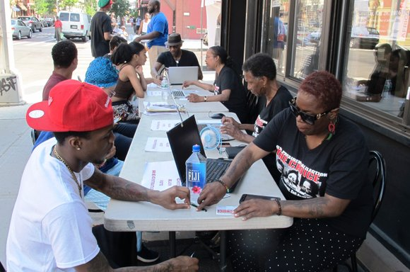 The Black Voter Coalition launched its voter registration campaign for the upcoming 2016 presidential election Saturday with great success.