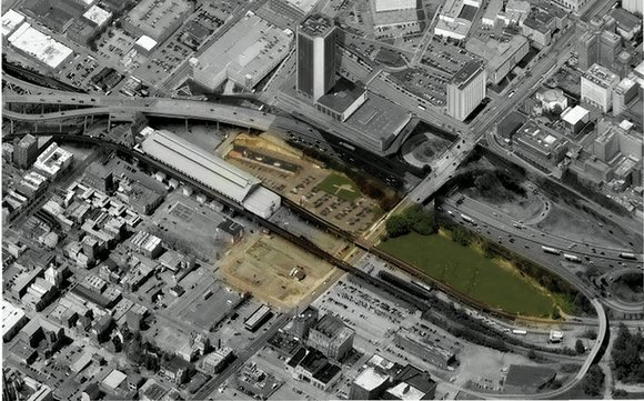 The push to create a memorial to slavery in Shockoe Bottom took another step forward this week as national groups ...