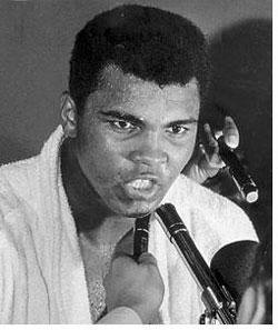 A figure that transcended the sport he dominated in three decades, former boxing heavy weight champ Muhammad Ali died Friday ...