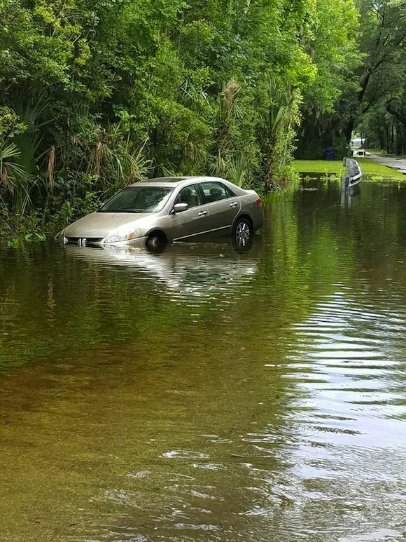 Tropical Storm Colin brought heavy rains and wind gusts as it made landfall early Tuesday in Florida.