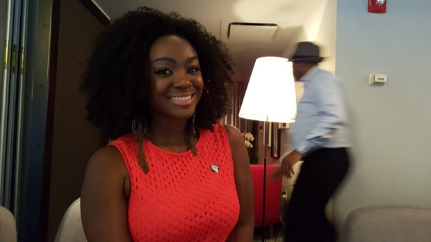 "Saycon Sengbloh, nominated for Best Performance by an Actress for ""Eclipsed"""