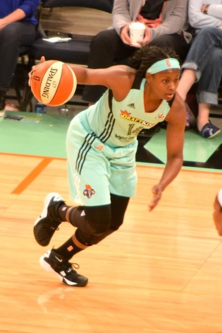 It was the narrowest of victories, but in the closing moments the New York Liberty pulled out a 91-88 home ...