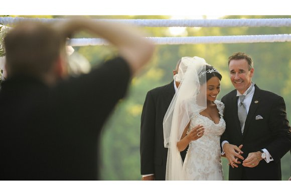 """Attorney Joseph D. """"Joe"""" Morrissey took a break last weekend from his campaign to be Richmond's next mayor to wed ..."""