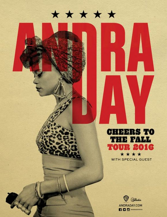 American-soul sensation Andra Day will embark on another headlining tour this fall with Citi.
