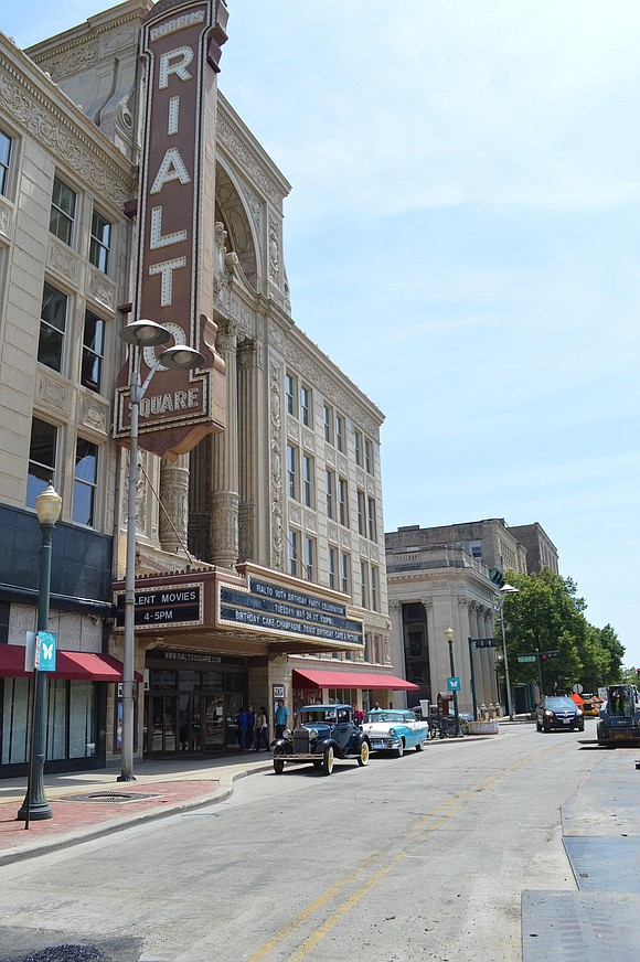 State Senator John Connor (D-Lockport) toured the Rialto Square Theater in Joliet on Monday afternoon in an effort to bring ...
