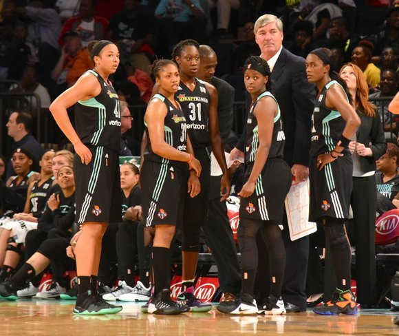After the New York Liberty's home court victory over the Dallas Wings last week, the team hit the road and ...