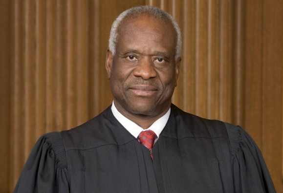 A woman has accused Supreme Court Justice Clarence Thomas of groping her in 1999, when she met him as a ...